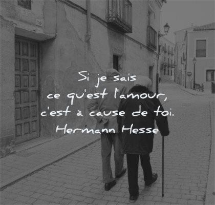 citations amour sais est cause toi hermann hesse wisdom personnes agees marche rue