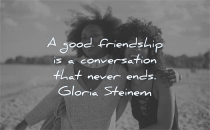 Friendship women quotes by about 9 Feminist