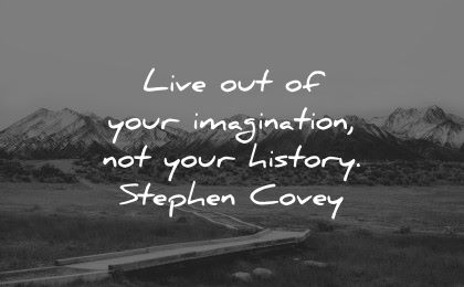 history quotes live your imagination stephen covey wisdom nature