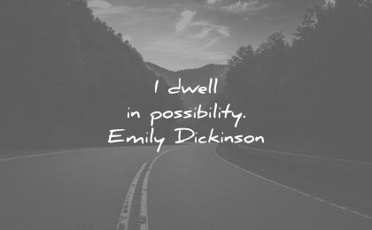 hope quotes dwell possibility emily dickinson wisdom