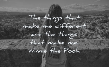 inspirational quotes for kids things make different winnie the pooh wisdom girl looking bag