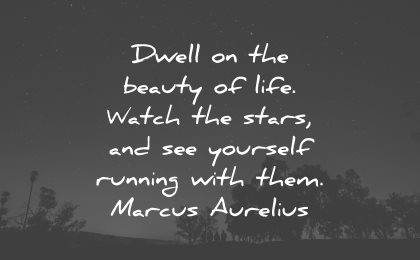 life is beautiful quotes dwell beauty marcus aurelius wisdom