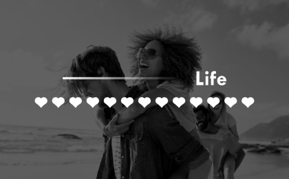love quotes only one life that soon past whats done will last wisdom graphic couple beach fun