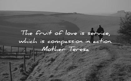 mother teresa quotes fruit love service compassion action wisdom