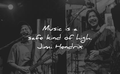music quotes safe kind high jimi hendrix wisdom men guitar