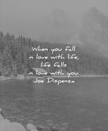 short love quotes when you fall with life falls joe dispenza wisdom