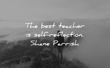 teacher quotes best self reflection shane parrish wisdom